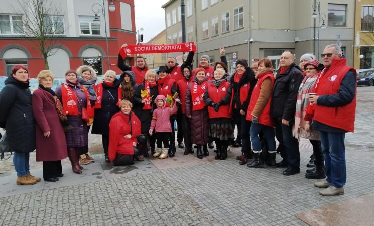 Klaipėdos socialdemokratai sveikina visus Gegužės 1-osios proga