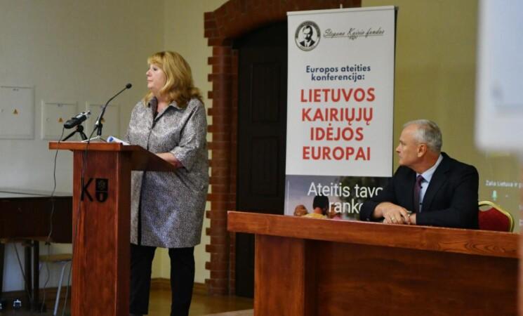 """""""ES ateities konferencija: Lietuvos kairiųjų idėjos Europai"""" Klaipėdoje"""