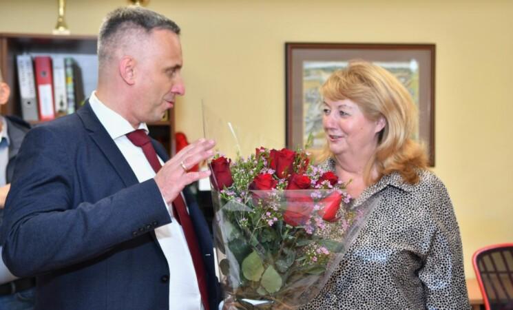 Susitikimas su V.Blinkevičiūte, J.Oleka ir V.Andriukaičiu