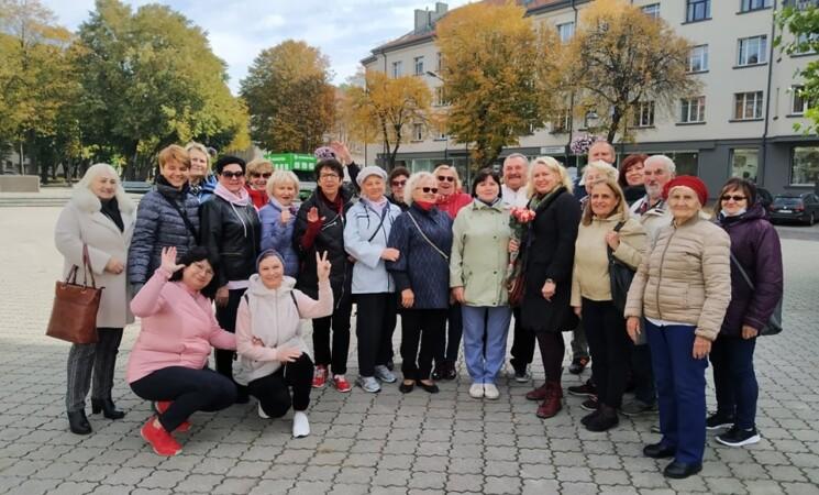 LSDMS Klaipėdos klubo ekskursija po Herkaus Manto gatvę sulaukė didžiulio susidomėjimo